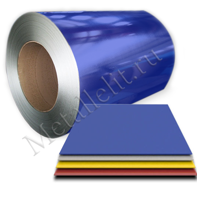 лист с полимерным покрытием 0,7 мм