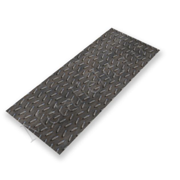 лист рифленый чечевица 4 мм