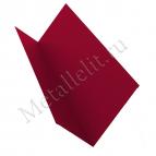 Планка примыкания 150х250 0,35 мм полимер