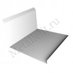 Планка примыкания нижняя 122х260 0,35 мм оцинкованный