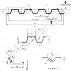профнастил н75 0.7 мм полимер